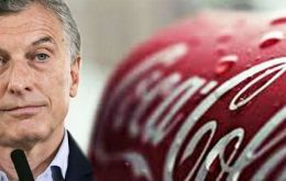 Coca-Cola was one of the first companies to pledge a major investment in Argentina after Macri took office in late 2015 promising business-friendly reforms