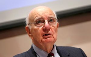 Former Chairman Paul A. Volcker - Foreign banks have complained the Volcker Rule improperly affects their non-U.S. operations since it applies to any foreign bank related with a U.S. entity or affilia