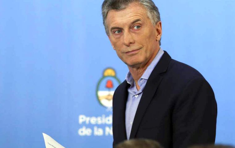 Allegedly Macri had already drafted the veto, which if signed will sour a political relation with a divided opposition