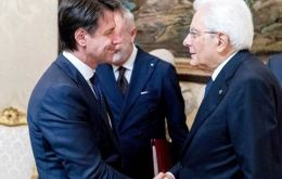 Prime Minister-designate Giuseppe Conte presented his list of ministers to President Sergio Mattarella for the second time in a week (Pic BBC)