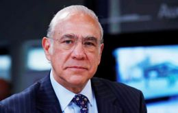 """Economic expansion is set to continue for the coming two years, and short-term growth outlook is more favorable than it has been for years,"" said Angel Gurria"
