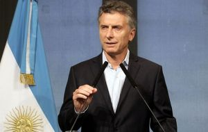 However president Mauricio Macri has sufficient congressional votes to support a veto but not enough to have legislation passed and thus is forced to negotiate.