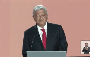 The poll showed Lopez Obrador with 52% support, up 4 percentage points from a Reforma survey carried out in late April