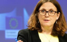 EU Trade Commissioner Cecilia Malmstrom said she hoped for progress on difficult issues this week, but cautioned that further talks would be required.