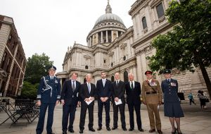 UK delegation was headed by Foreign Office minister for the Americas, Sir Alan Duncan, Armed Forces minister Mark Lancaster and UK ambassador Mark Kent