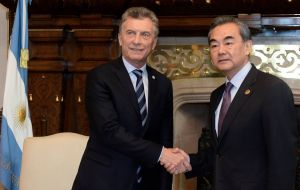 In July 2014, the People's Bank of China and the Central Bank of Argentina agreed a currency swap deal worth 70 billion Yuan (US$ 11.3 billion).
