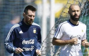 "Clarin reported that Macri examined the issue with AFA and learned that ""the players don't want to play in Israel because of threats against Messi."""