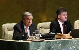 "Antonio Guterres said Espinosa is an experienced diplomat and politician who understands ""the need to cooperate when addressing current global challenges."""