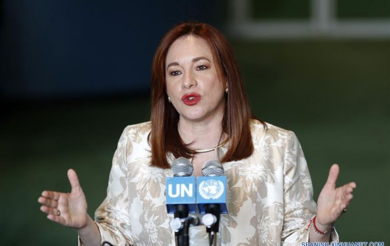 Ms. Espinosa had served as Minister of Foreign Affairs and Human Mobility, Minister of Defense, and Coordinating Minister of Cultural and Natural Heritage.