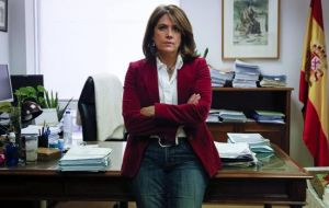 Dolores Delgado, a prosecutor specializing in anti-terrorism, justice minister and Margarita Robles, a close aide to the prime minister, gets the defense ministry