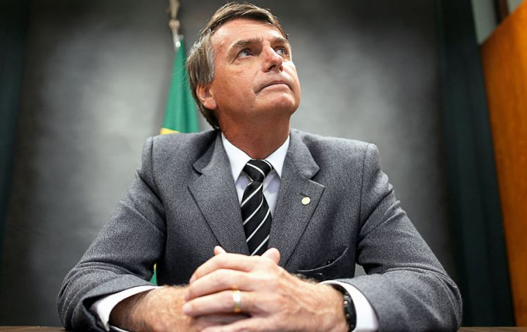 The former army captain Bolsonaro says he would include generals in his cabinet and allow police to shoot criminals dead if they are fired at.