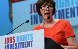 "TUC general secretary Frances O'Grady admitted the union movement had a ""problem"" in reaching young people"