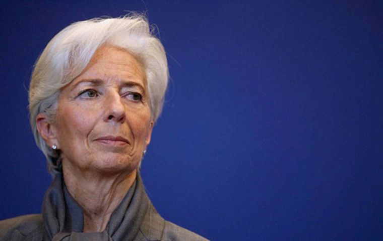 Christine Lagarde said the plan is owned and designed by the Argentine government, aimed at strengthening the economy for the benefit of all Argentines