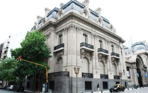 The Argentine Foreign Affairs ministry also known as Palacio San Martin