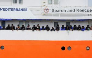 The vessel was told to ask Malta to provide a disembarkation port, but Malta has also refused. The crew say they have enough food for two to three days at sea.