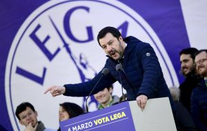 Salvini and its far-right League Party have promised to deport half a million illegal migrants from Italy