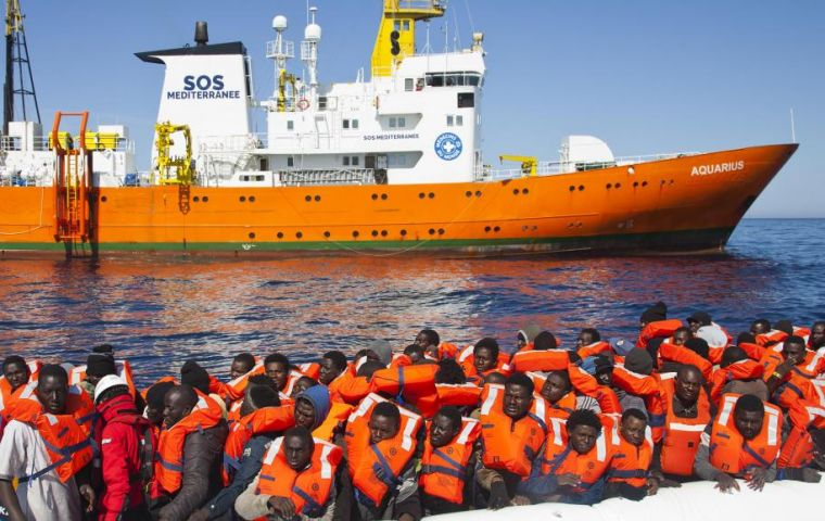 Aquarius, which is operated jointly by Medecine Sans Frontiers and SOS Medeterranee, was refused a port of disembarkation by the Italian authorities