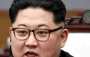 "Mr Kim said the leaders ""decided to leave the past behind"" and ""the world will see a major change""."