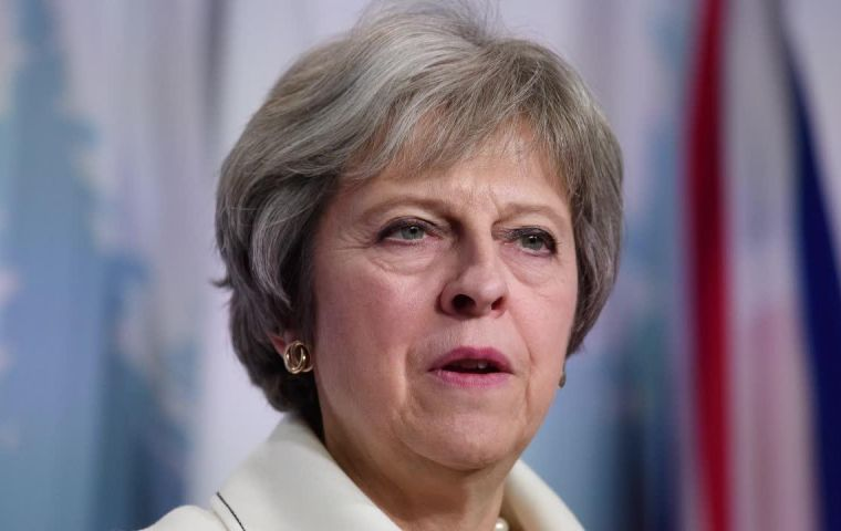 "Mrs May said: ""We must think about the message Parliament will send to the European Union this week."""