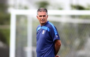 Queiroz, ex coach of Portugal and Real Madrid, said players get used to their sports equipment; it's not right to change them a week before such important matches.