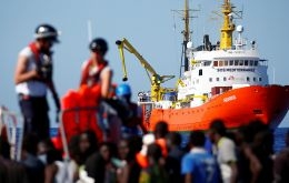 The rescue ship Aquarius has been stuck since Saturday in international waters off the coast of Italy and Malta, both of which have refused it entry.
