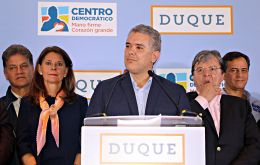 Duque has promised to overhaul the 2016 peace deal with the Revolutionary Armed Forces of Colombia (FARC) and cut taxes