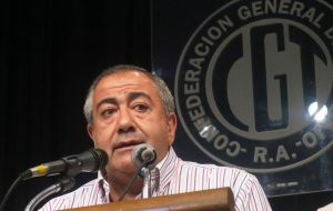 """The vulnerable sectors are more vulnerable by the day,"" Hector Daer, one of the three union leaders that make up the CGT triumvirate, told reporters."