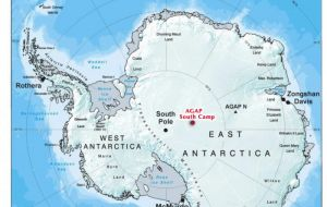 Although the general trend was of reduction, there was some increase in ice cover in East Antarctica.