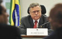 Maggi said that at least 60 ships in all Brazilian ports are facing loading delays because of reduced trucker movement from areas such as the center-west grain belt