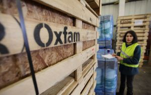 "Oxfam said it understood the decision: behavior of some staff was ""completely unacceptable"". The charity said it would continue to work through affiliates"