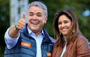 "Duque's campaign asks Colombian voters to ""Vote so that Colombia does not become another Venezuela"""