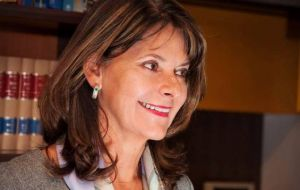 Marta Lucia Ramirez, will be Colombia's first female vice president.