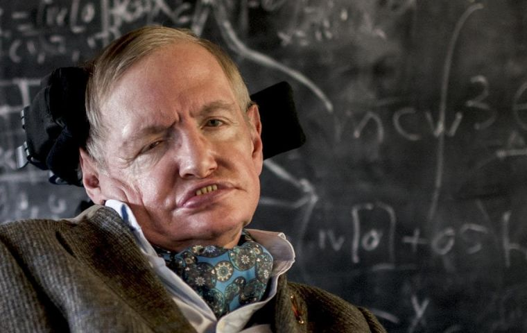 Prof Hawking died in March, aged 76, after a long battle with motor neurone disease.