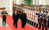 Kim's two-day visit which ends Wednesday is designed to reassure Beijing that Pyongyang will not neglect its interests despite the summit with Trump