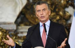 For Argentina it is some rare positive news for its economy, as market-friendly Macri seeks to normalize the country's international financial standing