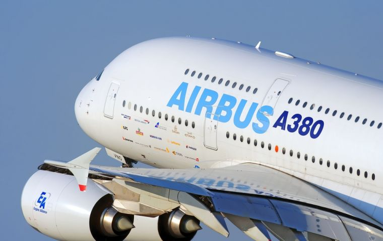 "The European plane maker said the warning was not part of ""project fear, but its dawning reality"". Airbus employs about 14,000 people at 25 different sites in UK"