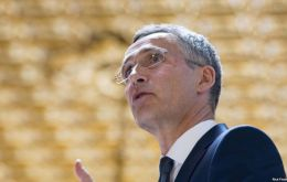In a speech in London, Jens Stoltenberg said he expected the UK to continue playing a major international role.