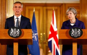 "The Nato Secretary General said the UK was able to play a major role in Nato because it has ""full spectrum"" defense capabilities and it spends more than 2%.s a ""tier one"" nation."