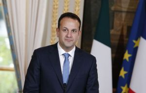 "Mr Varadkar said there was an urgent need to ""intensify"" negotiations to find an agreement on the shape of the border backstop."
