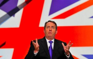 "Cabinet minister Liam Fox said Theresa May was ""not bluffing"" when she said leaving without an agreement could happen, if terms offered were not good enough"