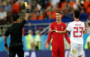 Paraguay's referee Enrique Caceres had to overrule crucial decisions that may have contributed, according to Queiroz, to Iran's elimination from the World Cup.