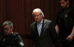 Dirceu, a crucial leader in the Workers' Party (PT), was sentenced to 30 years and nine months in prison for corruption, money laundering and criminal association