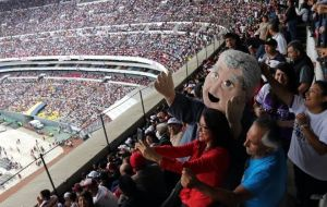 "López Obrador leads the polls with 47% of the intentions to vote and 92% chance of winning is shown as an example capable of ""changing the course"" of the country."