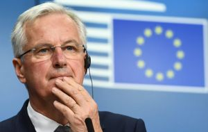 "Michel Barnier has said ""serious divergences"" remain over the question of backstop arrangements for the Irish border"
