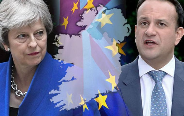 "Irish leader Leo Varadkar said the lack of progress was ""disappointing"" and expects fellow EU leaders to send a ""strong message"" to Mrs. May (Pic Getty)"