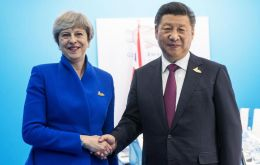 The announcement comes after Theresa May's trade mission to China earlier this year, when President Xi signaled that a lifting of the beef ban would happen soon