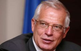 "Borrell said that Berlin and Paris were ""angry"" with Britain over Brexit, which he described as a ""pain in the ass"", distracting energy from issues such as immigration"