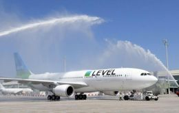 The new Level service from Vienna will start on 17th July, with four planes serving 14 destinations including Gatwick and Barcelona