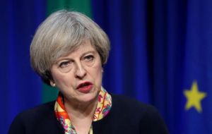 Theresa May said she hoped a new phase in the Brexit talks would be possible after the publication of the White Paper calling for negotiations to speed up and intensify