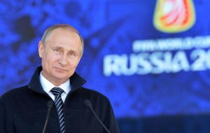 Vladimir Putin: nothing political is going to spoil Russia's great presentation to the world